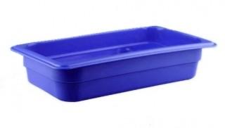 Гастроемкость из полипропилена без крышки GN 1/3 325х176х65 мм синяя [422101017]