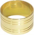 Кольцо для салфеток 42 мм золото [DS-С19]